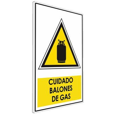 Señalética  Cuidado balones de gas