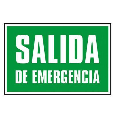 Señalética Salida de emergencia
