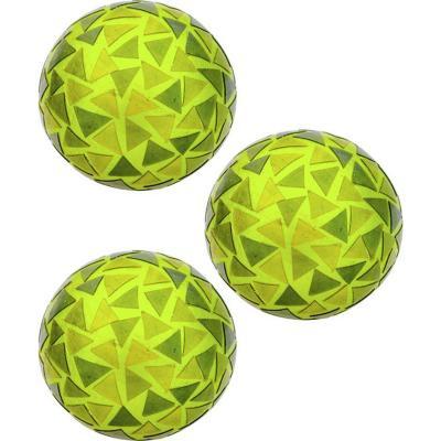 Pack 3 esferas decorativas plumavit 10 cm verde