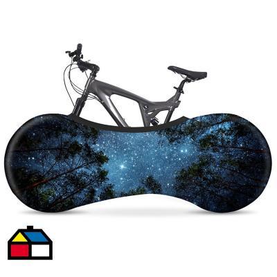 Funda elástica para bicicleta midnight 160x55 cm