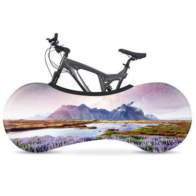 Funda elástica para bicicleta mountains 160x55 cm
