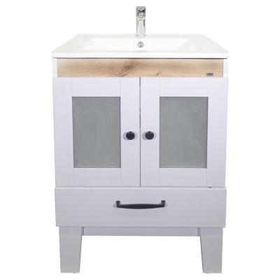 Mueble vanitorio 61x46,5x84 cm blanco