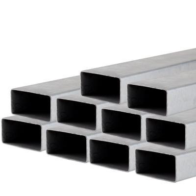 Pack perfil tubular rectangular 100x50x2,0x6000 mm 10 unidades