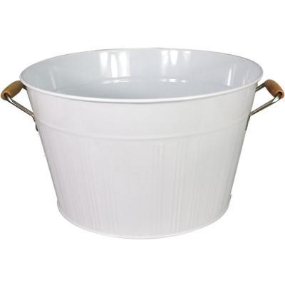 Hielera latón 2100 ml blanca