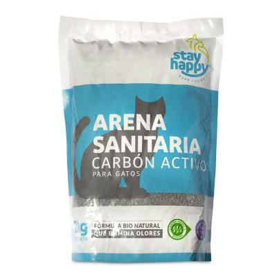 Arena aglutinante carbón activo 2 Kg