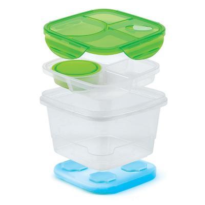 Set de contenedor de almuerzo con hielo
