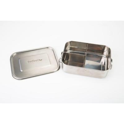 Lunchbox acero inoxidable 3 divisiones 1200ml