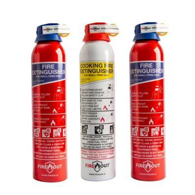 Pack Extintor Aerosol Portátil ABC2-ABF1