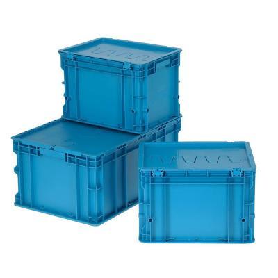 Set de 3 cajas modulares 101 lts 60x40x60 cm azul