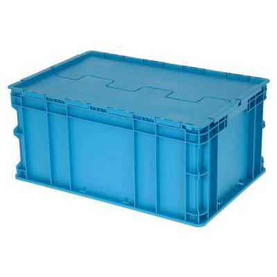Caja modular plástico 53 lts 60x40x30 cm azul