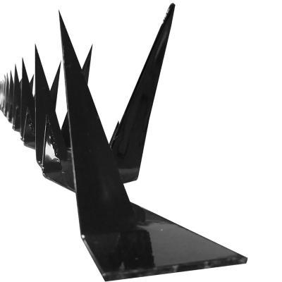 Protección muro punta simple 125 cm acero