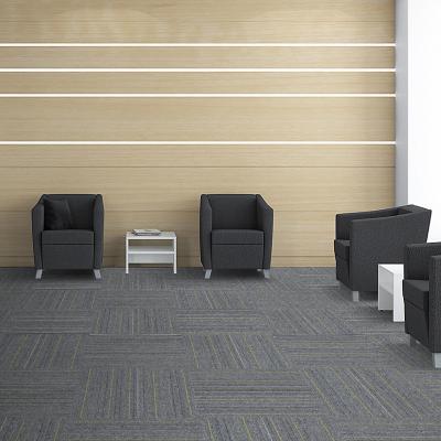 Alfombra en palmeta smart gris 50x50 cm 20 unidades