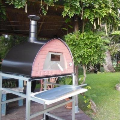 Horno a Leña para pizzas 60x70x70 cm cerámica