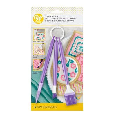 Herramientas para decorar galletas Morado