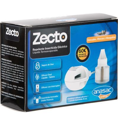 Insecticida eléctrico para zancudos difusor + botella liquida