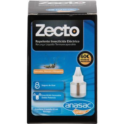 Insecticida recarga botella liquida 1 unidad