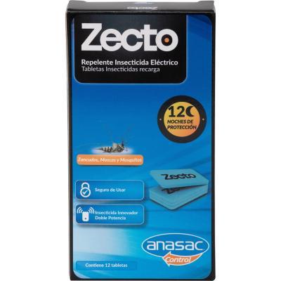 Insecticida recarga tableta insecticida 12 unidades