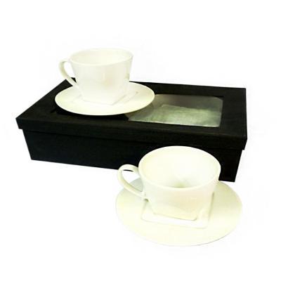Set 4 piezas de té color blanco