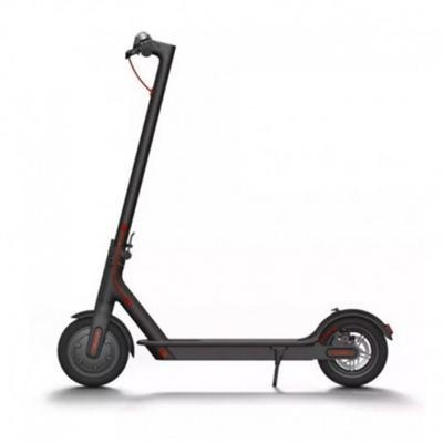 Scooter eléctrico urbano a batería negro