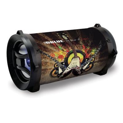 Bazooka Portable con Luces BL/USB/SD/FM/AUX