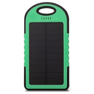 Batería Solar Portátil 5600mAh - Verde