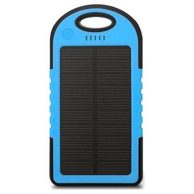 Batería Solar Portátil 5600mAh - Azul
