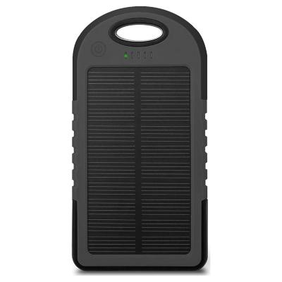 Batería Solar Portátil Dblue 5600mAh/Negro