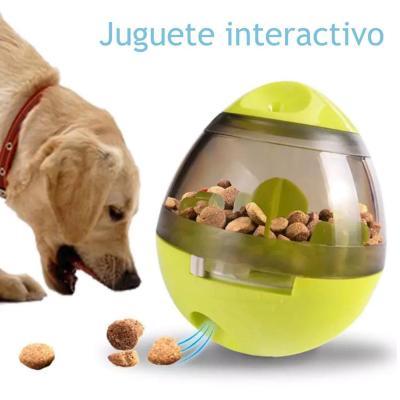 Juguete interactivo mascotas comida huevo verde