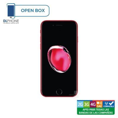 Celular iPhone 7 128GB Rojo Open Box