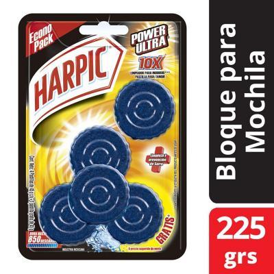 Pack 4+1 pastilla wc harpic 45