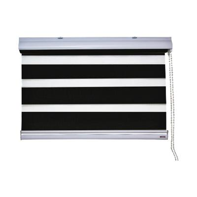 Cortina enrollable Dúo 135x240 cm Negro