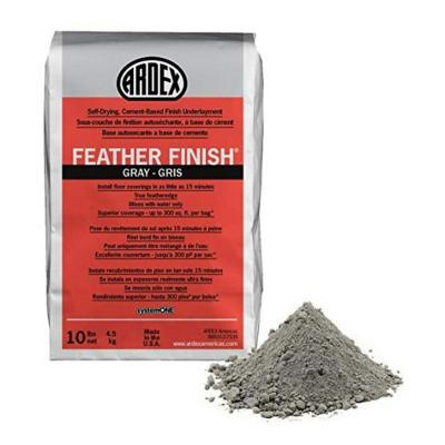 Microcemento Ardex Feather Finish gris 4,5 kg