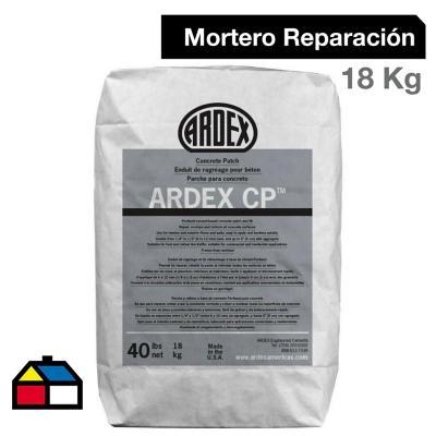 Mortero Reparador de Concreto Ardex CP 18 kg