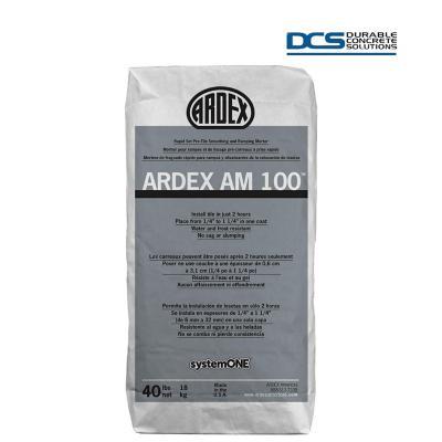 Mortero de Endurecimiento Rápido Ardex AM 100