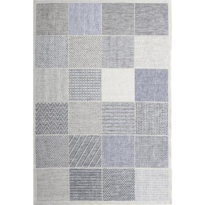 Alfombra monterrey cubos 160x230 cm gris