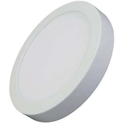 Panel led sobrepuesto circular 24W Luz Fría 6000K blanco