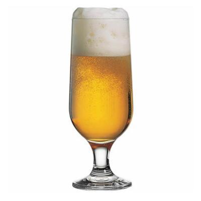 Set 24 copas vidrio beer capri 350cc