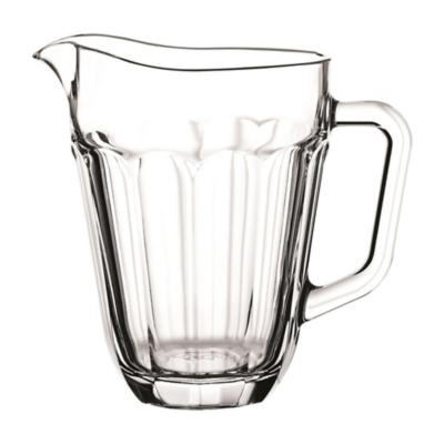 Set 6 jarros vidrio casablanca 1,3 litros