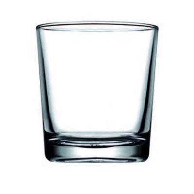 Set 6 vasos vidrio liso tradicional 150cc