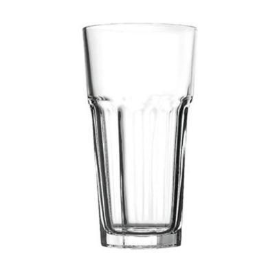 Set 12 vasos vidrioalto templado casablanca 645cc