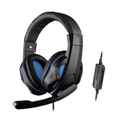 Audífono + Micrófono Gamer PS4/Consolas/PC Azul