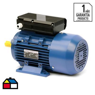 Motor Eléctrico 4 HP 1400RPM, 220V