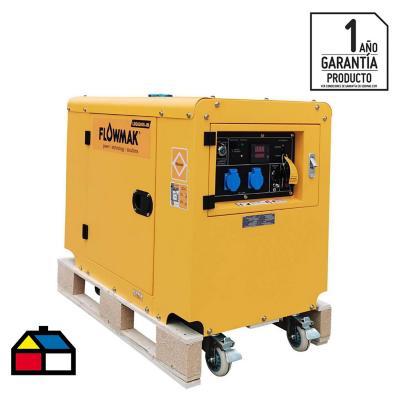 Generador eléctrico a gasolina 5000W