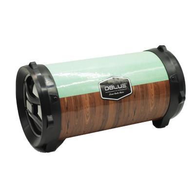 Bazooka Portable con Luces BL/USB/SD/FM/AUX Retro