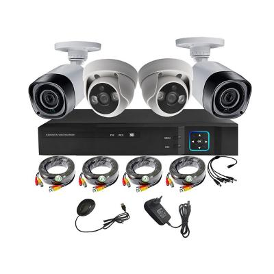 Kit cámaras de seguridad + Xvr 4Ch HD 1mp