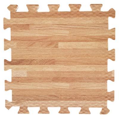 Set 9 goma eva estilo madera vainilla
