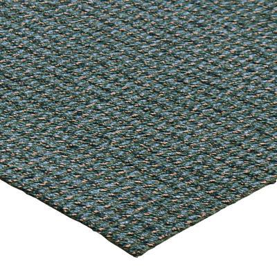 Alfombra bouclé rollo 3,66x5,50 mt verde azul