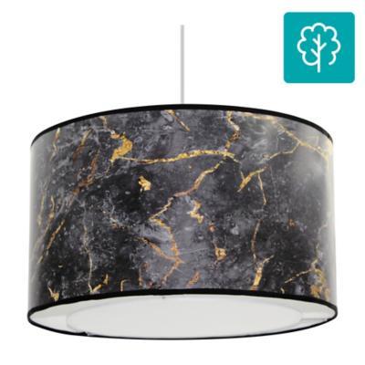 Lámpara de colgar E27 Negro