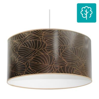 Lámpara de colgar E27 diseño Hoja Pilea
