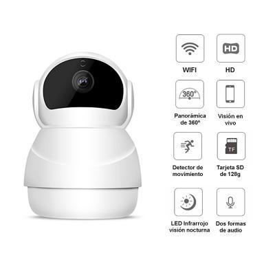Cámara seguridad IP WIFI 360° Full HD 1080P